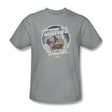 Back To The Future 2 Synchronize Watches T-Shirt Adult Men Silver S M L Xl 2X 3X