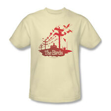 Birds On A Wire T-Shirt Adult Men Cream S M L XL 2X 3X