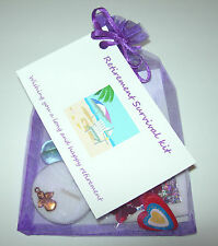 Retirement gift / card *Novelty Survival Kit* present to say goodbye, good luck.