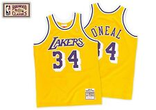 NWT Mitchell and Ness Los Angeles Lakers 1996 - 1997 Jersey - Shaquille O'Neal