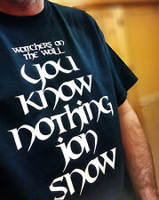 John Snow Game Of Thrones Watchers On The Wall Inspired T Shirt GOT