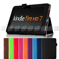 "Fintie Folio Leather Case Cover Stand For Kindle Fire HD 7 7"" 1st Gen 2012 Model"