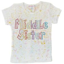 "Attitude Pie ""Middle Sister"" Girl's T-Shirt"