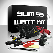 Slim 55Watt HID Kit 55W H4 Headlight H13 9003 9005 9006 3k white Hi-Lo Bi-Xenon