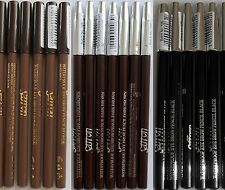 SAFFRON LONDON WATERPROOF EYE BROW PENCIL BLONDE DARK BROWN LINER EYEBROW