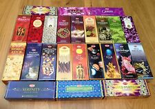 Hem Incense Sticks Auhentic Indian Joss 20 per Box Buy 4 Boxes Get another Free!