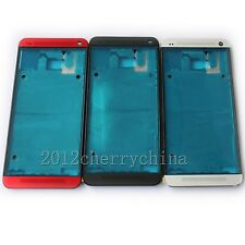 New Housing Front Bezel Frame Cover For HTC One M7 801n 810e 801s