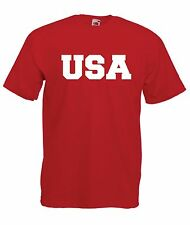 USA sports game baseball hockey football soccer NEW Boys Girls Kids T SHIRT TOP