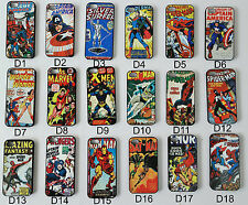 UK Apple iPhone 4 4s 5 5s Spiderman Superhero Marvel Comic Book Phone Case Cover
