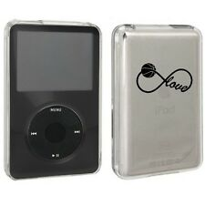 For Apple iPod Classic Hard Case Cover 80gb 120gb 160gb Infinity Love Basketball