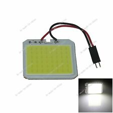 1pcs White 48 Chips COB LED Festoon Dome/Door/Box Light Panel Interior Bulb J308