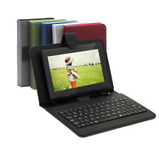 """iRulu 7"""" Android 4.2 Dual Core Cam Tablet PC 8GB WIFI Black w/Gridding Keyboards"""