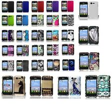 LG Optimus Fuel L34C / Zone 2 VS415PP Hard Case Snap-on Phone Cover