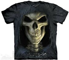 The Mountain Big Face Death In Chains Skull Mens T-Shirt S,M,L,XL,2XL,3XL