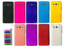 Hard Back Cover Case for Huawei Ascend Y530 + Screen Protector + Stylus Pen