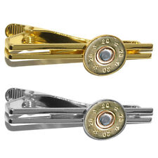 20 Gauge Bullet Shell (Image Only) - Ammo Round Tie Bar Clip Clasp Tack