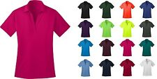 Ladies Silk Touch Dri-Fit Casual Polo Shirt 100 % Polyester NEW XS-4XL GOLF L540