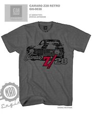 NEW Licensed Chevy Camaro Z28 T Shirt vintage muscle car hot rod GM classic tee