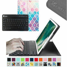 Fintie Slim Bluetooth Keyboard Folio Smart Shell Cover Case Stand For iPad 4/3/2