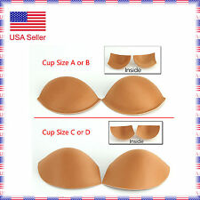 One Pair Size A/B Supportive Padded Bra Cups Ballroom Latin Dance Costume Dress
