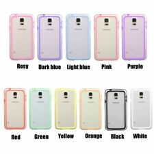 Colorful Silicone Bumper Frame Cover Case for Samsung Galaxy S5 SV  i9600 G900
