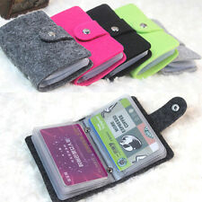 Fashion Womens Pouch Id Credit Card Wallet Cash Holder Organizer Case Box Pocket