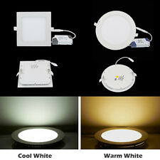 Dimmable 6W 9W 12W 15W 18W 21W LED Panel Down Light Recessed Ceiling Lampe lamp