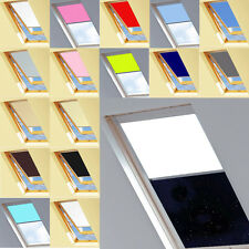 Thermal Blackout Roller Blinds for M/P/U Size Velux Skylight Windows