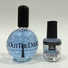 NAIL TOP COAT LIQUID INM OUT THE DOOR 2 DIFFERENT SIZES*