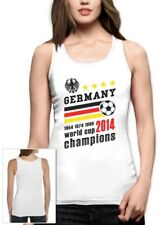 Germany World Cup Champions Women Tank Top Soccer National Team 2014 Winners