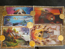 LENTICULAR 3D PICTURES/POSTERS WALL ART DECOR CHINA SHIP LION PUPPY COTTAGE