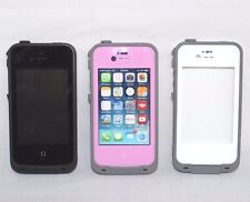 OEM Original Lifeproof Fre Case for Apple iPhone 4 4S- Black-Pink-White