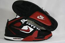 NEW Mens NIKE Air Flight Falcon 397204 066 Black Red Basketball Sneakers Shoes