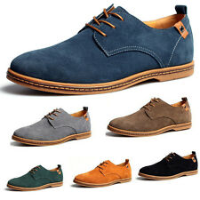 NEW 2014 Suede European style leather Shoes Men's oxfords Casual 11 Size Fashion