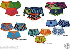 BOY'S 3PK OF COTTON RICH TRUNK FIT BOXER SHORTS VARIOUS DESIGNS 2-13 YEARS