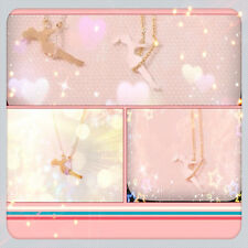 Girl in Swing Necklace  (Silver or Gold) - Gift-Boxed