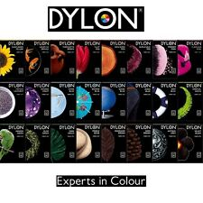 Dylon MACHINE DYE Wash Fabric Cotton Material 24 Fresh Colours Clothes Easy Use