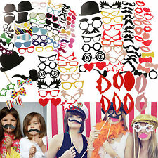 DIY Photo Booth Props Moustaches On A Stick F. Wedding Birthday Party Christmas