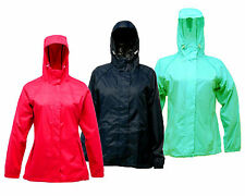RRP £35 REGATTA LADIES LIGHTWEIGHT WATERPROOF BREATHABLE PACKAWAY II JACKET