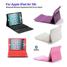 Bluetooth Keyboard Leather Case Cover For Apple iPad Air 5th with Retina Display
