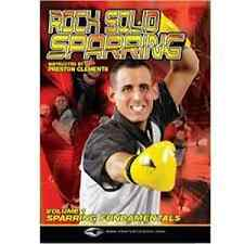 Rock Solid Sparring DVD Martial Arts Instructional Learning Training Techniques