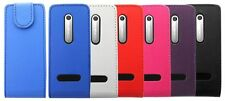 Flip Wallet Leather Case Cover Pouch For Nokia 301 & Screen Protector