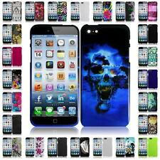 For Apple Iphone 6 4.7 INCH Hard Snap on Two Piece Cover Case + LCD Screen Guard