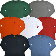 Polo Ralph Lauren T-shirt Long Sleeve Classic Fit Crew Neck Tee Men S M L Xl Xxl
