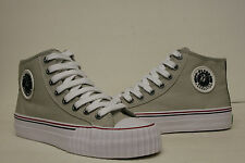 PF Flyers Center Hi Reiss Grey Shoes PM09CH1G Mens 4, 4.5, 11 Womens 5.5, 6