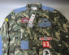 A BATHING APE Men's AAPE L/S ARMY SHIRT Camo Best Buy From Japan New