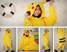 Hot Unisex Adult/ Children Kigurumi Pajamas Anime Cosplay Costume Onesie pikachu
