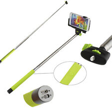 SELFIE Monopod Extendable Stick Pole Handheld Holder w/ Bluetooth Remote Button
