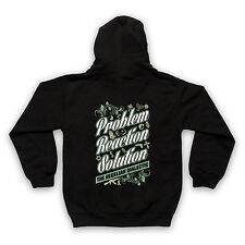PROBLEM REACTION SOLUTION HEGELIAN DIALECTIC THEORY KIDS FULL ZIP HOODIE HOODY