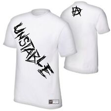 Dean Ambrose Unstable WWE Authentic Mens White T-shirt